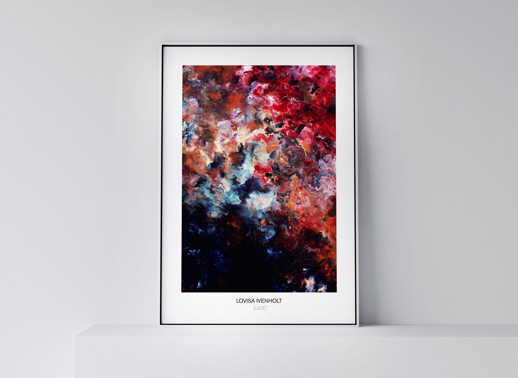 Lovisa Ivenholt konstposter 50x70 cm