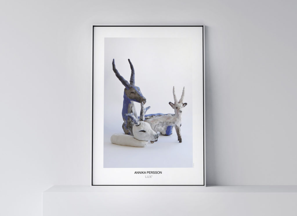 Annika Persson konstposter 50x70 cm Foto: © Maja Spasova