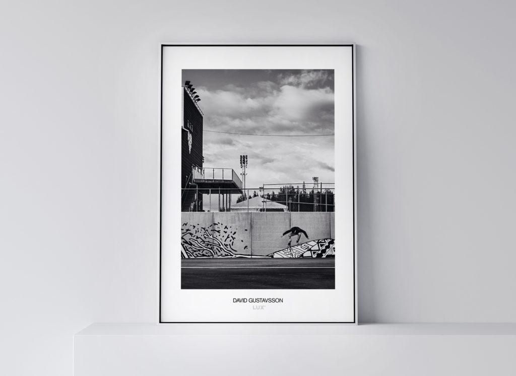David Gustavsson fotoposter 50x70 cm